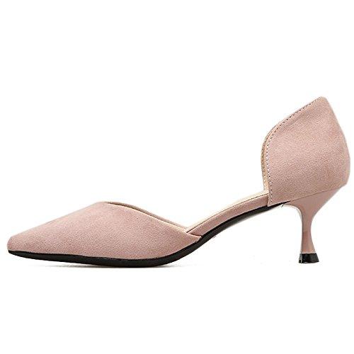 singolo scarpe temperamento Primavera in 34 moda B da l'estate elegante da aria festa scarpe un donna lavoro EU stiletto con scarpe da sexy e YMFIE 7aqdpd