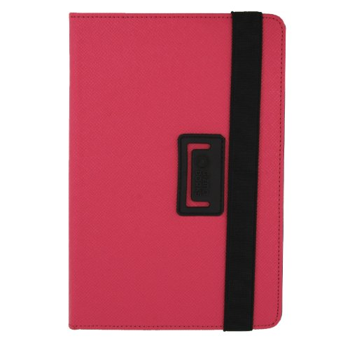 Gizmo Dorks Folio Stand Case for ZTE Optik Tablet V55 Coral Pink
