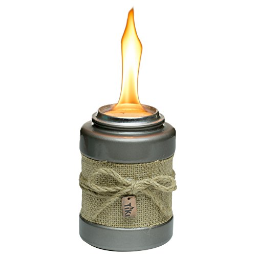 Tiki Brand 1116090 Burlap Tabletop Torch For Sale