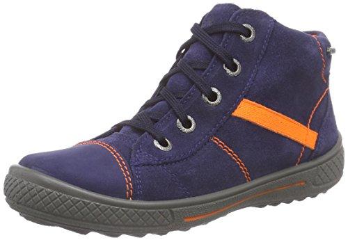 Superfit TENSY WINTER - zapatillas deportivas altas de piel niños azul - Blau (COSMOS KOMBI 91)
