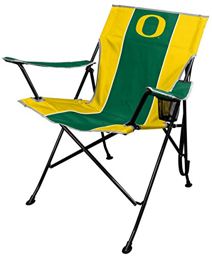 Chair Folding Tailgating Tailgate (NCAA Portable Folding Tailgate Chair with Cup Holder and Carrying Case)
