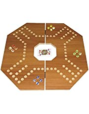 Jackaroo for 4 players - large light brown board
