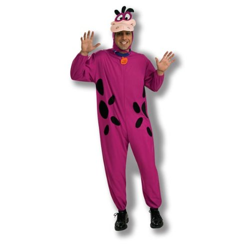 Rubie's Costume Co. Men's The Flintstone's Dino The Dinosaur Adult Costume, Purple, One Size, Multicolor]()