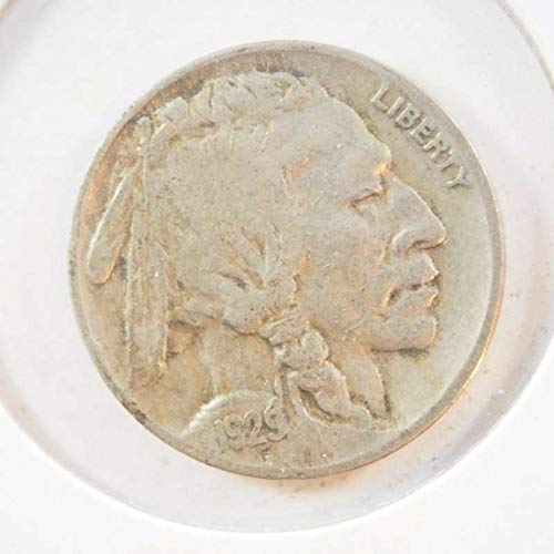 1929 D Buffalo Nickel Nickels Ungraded