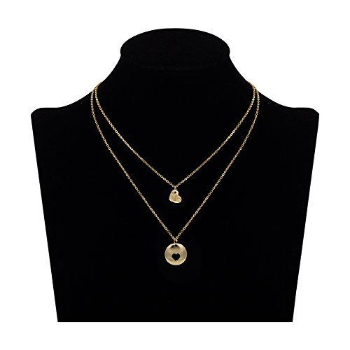 Boosic Crystal Initial Necklace Jewelry