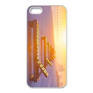 iPhone 5,5S Phone Case Beach Chairs U8T91453