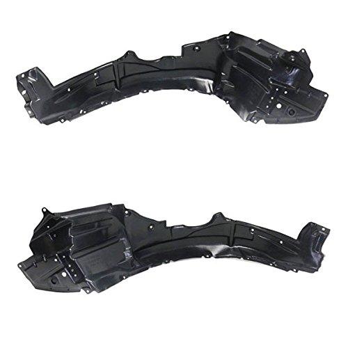 For 14 15 16 Corolla Front Splash Shield Inner Fender Liner Left Right SET PAIR