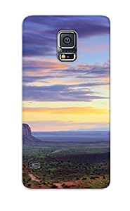 Crazinesswith Scratch-free Phone Case For Galaxy S5- Retail Packaging - Monument Valley