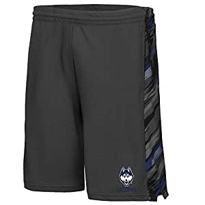 Mens NCAA UConn Huskies Basketball Shorts (Charcoal) - XL