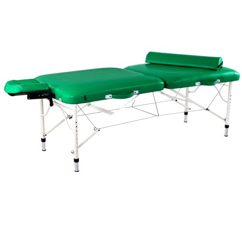 Master-Massage-30-Calypso-Ultra-Light-LX-Massage-Table-Package-Emerald-Green-25-lbs