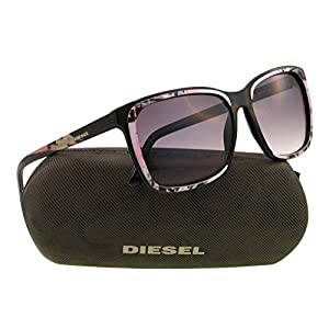Diesel sunglasses DL 0008 sunglasses 05B Black 58mm