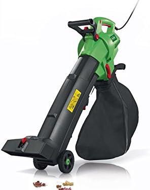 Soplador y cortadora de hojas, 3 en 1, eléctrico, aspiradora, 3000 ...