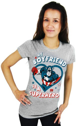Marvel - Camisa / Camiseta para mujer talla M