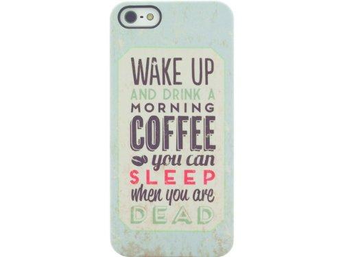 Signature CO7611 Back Case - Retro Range - Apple iPhone 5/5S- Coffee