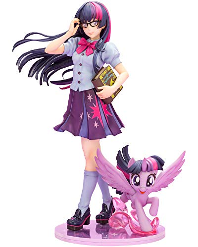 Kotobukiya My Little Pony: Twilight Sparkle Bishoujo Statue, Multicolor