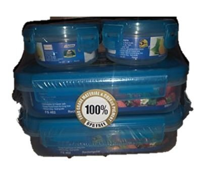 Polyset SuperLocked Pigment Container  Pack Of 4  Kitchen Storage   Containers