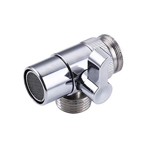 (Wffo Stainless Steel Diverter For Kitchen Sink Faucet Or Bathroom Faucet Part (Silver))