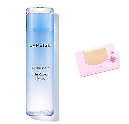 Laneige Power Essential Skin Refiner Moisture 200Ml SoltreeBundle Natural Hemp Paper 50pcs