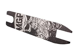 Madd Gear Shock Madd Hatter Grip Tape with 10 Stickers (White)