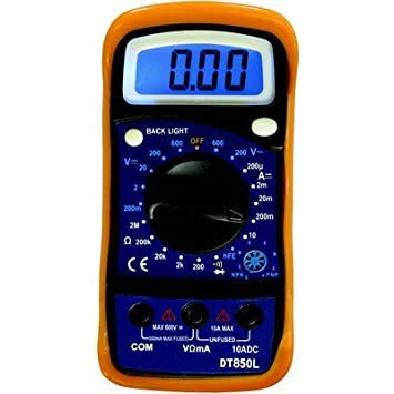 Review Ironton Digital Pocket Multimeter