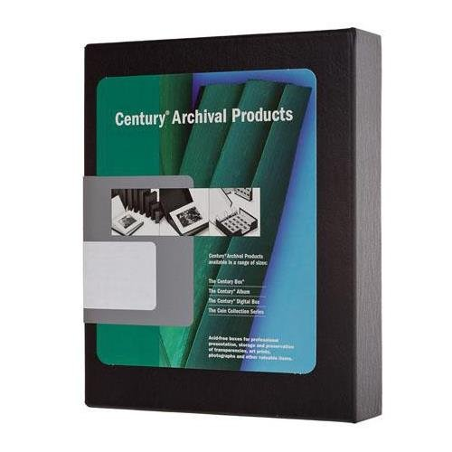 Century Archival Elite #1213 Storage Print Box, Size: 11x14'' x 2'', Color: Black. by Century