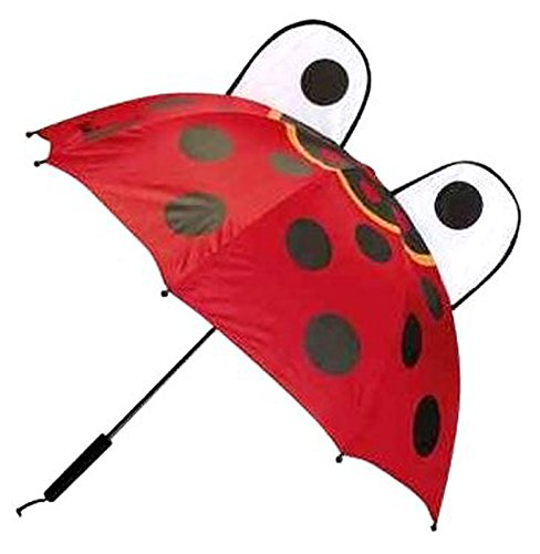 Toysmith Childrens Red Ladybug Umbrella