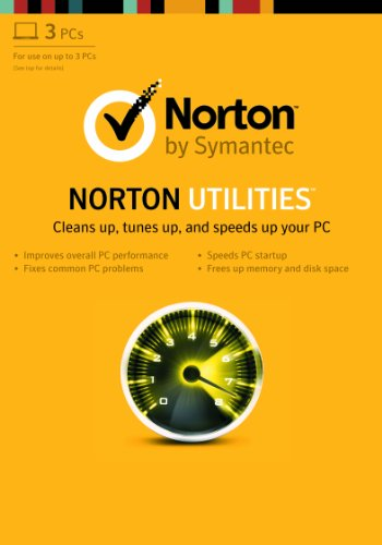 Norton Utilities (For 3 PCs) [Download Code] (Best Standalone Virus Scanner)