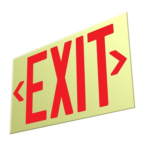 Unframed Exit Signs - 7
