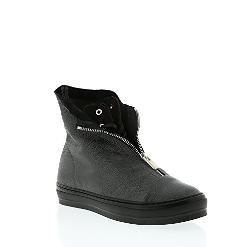 Frankie Poupe Lace Zip Avant Hightop Gunmetal