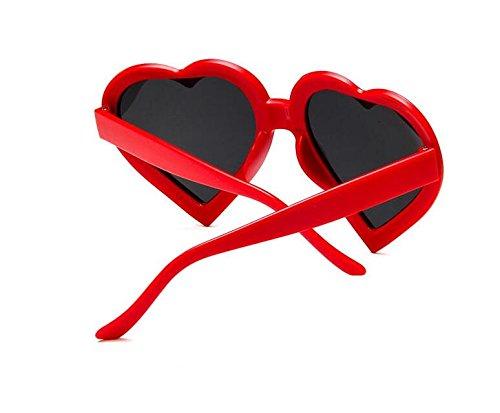 Diseño Mujer para Gafas de Sol de Corazón BNASA qIwaHXnRI