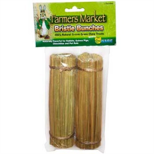 Ware Natural Broom Grass Bristle Bunches Small Pet Chew Treat, My Pet Supplies