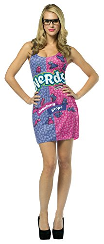 [UHC Girl's Nestle Nerds Outfit Funny Theme Halloween Teen Costume, Teen (13-16)] (Nerd Halloween Costumes For Girls Kids)