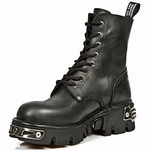 Boots Black NEWMILI084 New M Rock S9 Metallic nWZn7wvxC