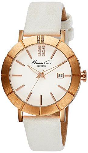 Kenneth Cole New York Women's KC2743 Classic Rose Gold Bezel Etched Markers - Designer Hand Sunglasses Second