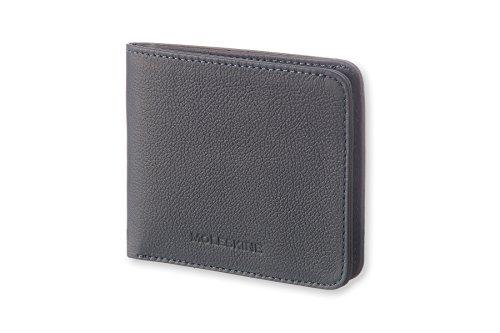 Moleskine Lineage Leather Wallet Blue