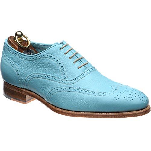 Herring 136806657 - Zapatos de Cordones Para Hombre Azul Powder Blue
