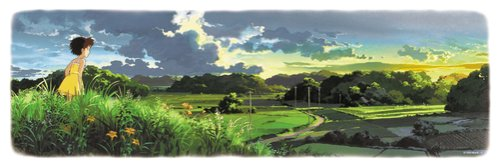 950 pieces landscape puzzle from the movie My Neighbor Totoro
