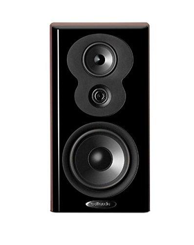 Polk Audio LSiM 703 MM Bookshelf Loudspeaker (Midnight Mahogany)(1 speaker) by Polk Audio
