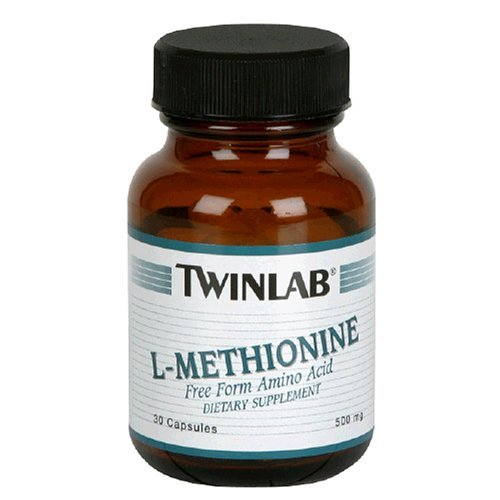 Twinlab - L-Méthionine 500 mg. - 30 Capsules