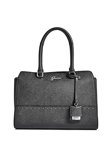 GUESS Factory Women's Out And About Saffiano Satchel
