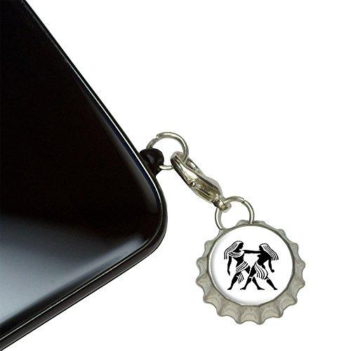 gemini-the-twins-zodiac-horoscope-mobile-cell-phone-jack-anti-dust-bottlecap-charm-fits-iphone-ipod-