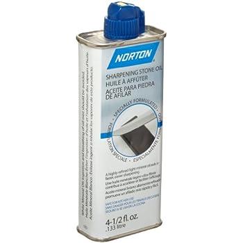 Norton Abrasives 07660787940 4 1 2 Oz Sharpening Stone Oil Honing