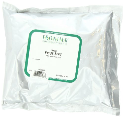 Price comparison product image Frontier Poppy Seed Whole, 16-Ounce Bags (Pack of 2)