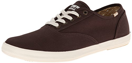 98e99c4aa79b8 Keds Women's Champion Solid Army Twill, Brown, 10 M US - Import It All