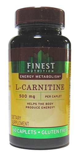 Finest Nutrition L-Carnitine, 500mg, 60 Tablets