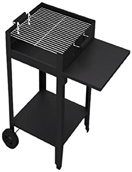 Tepro Chill&Grill Habanero - Barbacoa de carbón (sin tornillos), color negro
