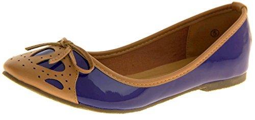 mujer Bailarinas para Azul Studio Footwear SqUFYw1w