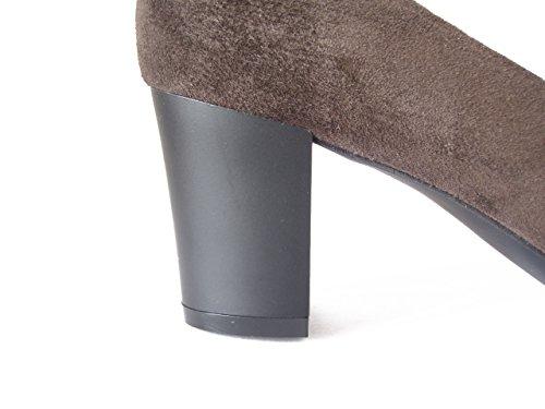 moro OSVALDO 6cm iq154 Vernice di in Tacco PERICOLI e Elegante Camoscio Soft Decollete Cinzia Marrone testa FCH7ZwqF