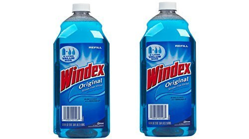Windex Window Cleaner Refill, 67.6 oz, Value Pack by Windex