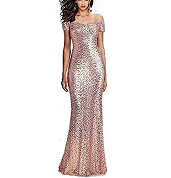 NANIYA Shoulder Sequined Prom Dress Sheer Back Sweetheart Evening Prom Gown Formal Party Dress